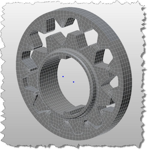 Gear Assembly, 3D, 01