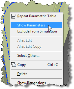 Show Parameters 01